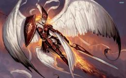 Warrior angel wallpape 488