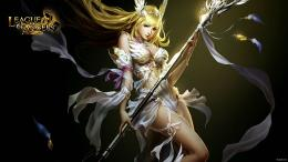 LEAGUE OF ANGELS fantasy angel warrior league angels game loa2 697