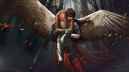 Download Brave warrior rescue angel High quality wallpaper 1649