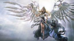 Angel Warrior Computer Wallpapers, Desktop Backgrounds | 1440x810 | ID 1454