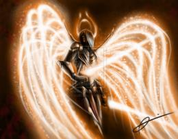 Angel Warrior by NeosEtnies on DeviantArt 744