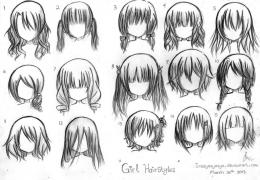 Manga Hairstyles Girl hairstyle photos | Hairstyle Design Ideas 951