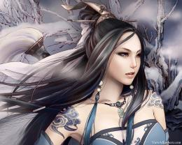Anime Beauty Girl Warrior Wallpaper | Anime HD Wallpapers 1220
