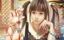CG beautiful girl wallpaper by I Chen Lin TaiwanFantasy Wallpaper 316