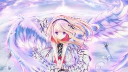 FREE WALLPAPERSHD WALLPAPERSDESKTOP WALLPAPERS: Anime Girl Angel 113