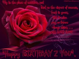 Rose Ever For Happy Birthday Wishes 1080p Desktop Background Wallpaper 328