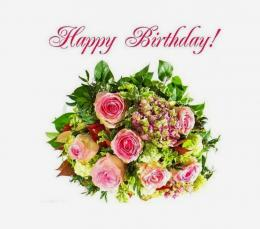 Roses Wallpapers Happy Birthday Flowers bouquet happy birthday 1549