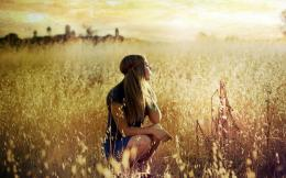 Blonde Girl in Summer Field wallpapers | Blonde Girl in Summer Field 485