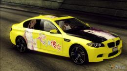 BMW M5Sakurasou no Pet na Kanojo Itasha for GTA San Andreas inside 886