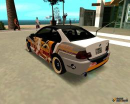 BMW 325t E46 Itasha for GTA San Andreas inside view 1298