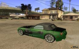 BMW Z4 in the style of ItashaAt auto shows heroine of the anime SAO 328