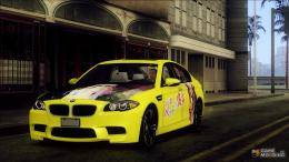 BMW M5Sakurasou no Pet na Kanojo Itasha for GTA San Andreas 689