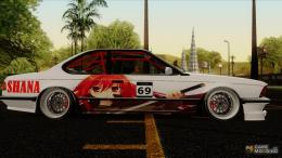 BMW E24Shakugan No Shana Itasha for GTA San Andreas rear left view 588