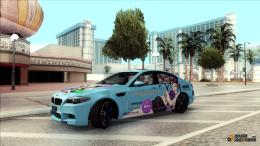 BMW M5Gochiusa Itasha for GTA San Andreas inside view 1884