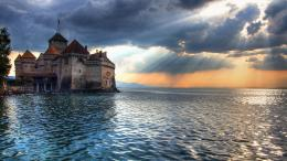 Chillon Castle, Switzerland wallpaper #6401 606