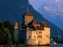 Chateau de chillon montreux france castle HD Wallpaper 302