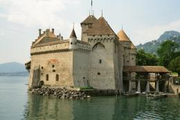 download castle of chillon switzerl wallpaper tags walls towers castle 934