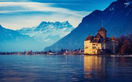 Chillon Castle wallpaperWorld wallpapers#17550 1871