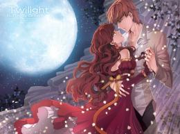 Wallpaper Collection Romantic Love Couple kissing: Love Couple Anime 1271