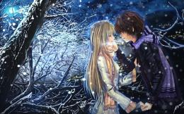 anime love couples in love hd wallpaper 1024x678 anime couple in love 1248