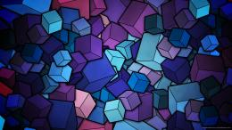 Blue Cubes wallpaper733200 140