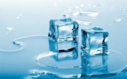 Blue Ice Cubes desktop wallpaper 1335
