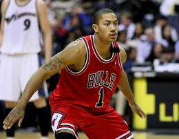 American Professional Basketball Player Derrick Rose 859