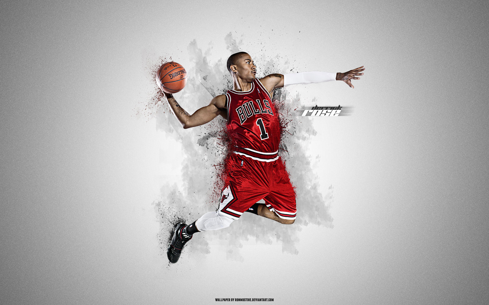 Derrick Rose Wallpaper – Showing a Persistent Basketball Player 940