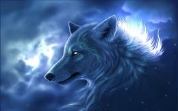 Fantasy Wolf Wallpaper HD 1392