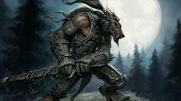 Fantasy War Wolf HD Wallpaper 1645