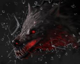 demon Demon Wolffantasy horror wallpaper 823
