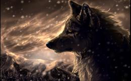 download fantasy wolf wallpaper tags fantasy wolf wildlife animal 158