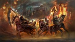 download four horsemen of the apocalypse wallpaper tags horsemen horse 1133