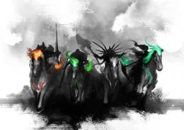 TEASER4 Horsemen by theDURRRRIAN on DeviantArt 1113