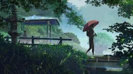 Makoto Shinkai\'s new works: The Garden of Words wallpapers 163 1534