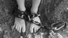 Feet In Chains Free Stock Photo HDPublic Domain Pictures 1946