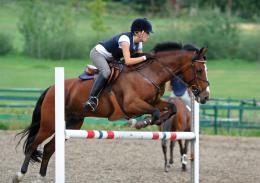 girl horse jumping | Natalie\'s Blog 147
