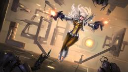 Cartoon Robot Girl Fire HD Images | HD Wallpapers 1354