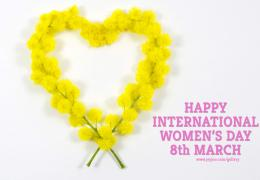 Happy International Women\'s Dayfree stock photography 1975