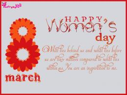 Happy International Women\'s Day Wishes and Greetings Message SMS Card 791