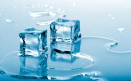 Ice Cubes In Water Wallpaper Ice cubes in w… 1871