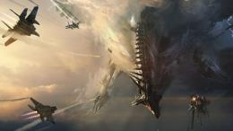 Jets Spaceship Drawing sci fi science battle invasion sky war military 242
