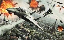 ACE COMBAT game jet airplane aircraft fighter plane military battle 223
