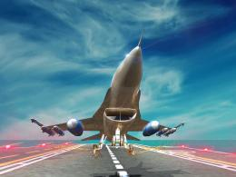 App Shopper: F16 Jet Air Battle DogfightShoot Missiles To Destroy 1436