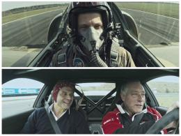 Porsche 911 GT3 Races a Fighter Jet In One Emotional BattleVideo 1974