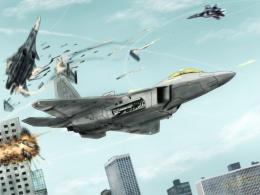 ACE COMBAT game jet airplane aircraft fighter plane military battle hf 1088