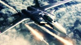 ACE COMBAT game jet airplane aircraft fighter plane military battle 274