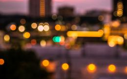 Wallpaper macro, bokeh, macro, bokeh, lights, city, city, blur 1283