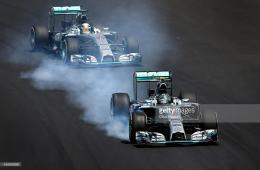 Mercedes GP during the Brazilian Formula One Grand Prix at Autodromo 878