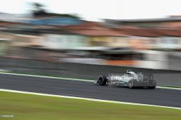 Nico Rosberg of Germany and Mercedes GP drives during final practice 1263